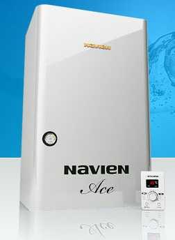 Настенный газовый двухконтурный котел NAVIEN Ace 13-40 кВт
