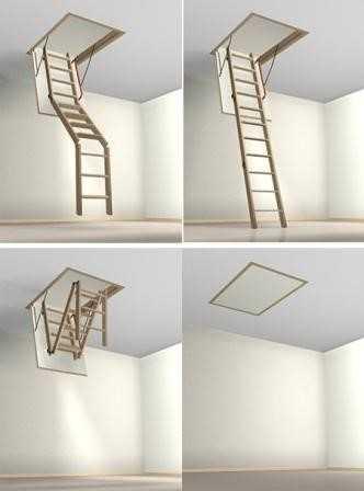 Лестницы чердачные раскладные Fakro