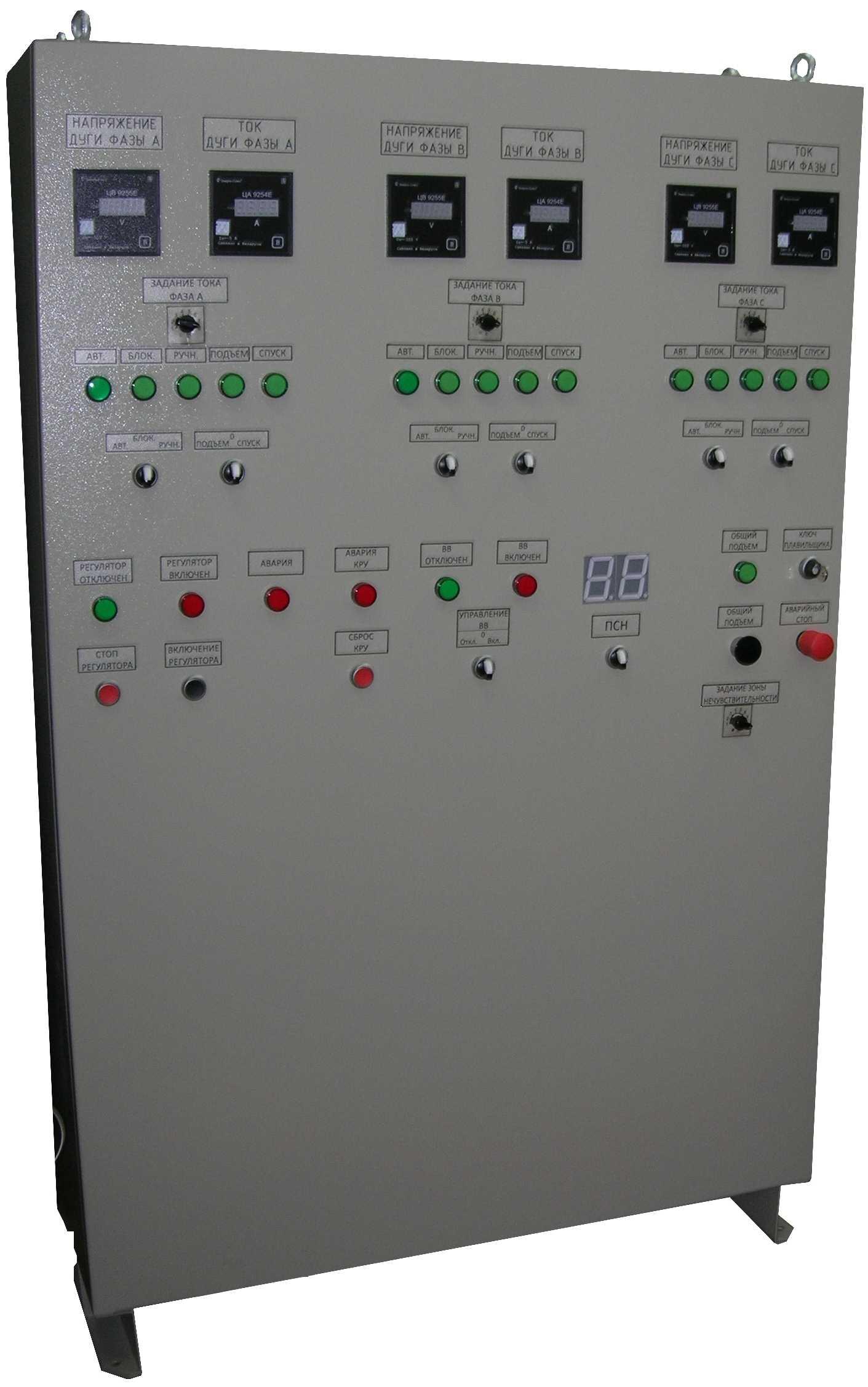 Шкафы управления сталеплавильной печью ШРД 9201