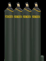 Диоксид углерода газообразный в баллоне, 10 л - ПРОМГАЗ