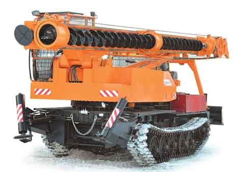Бурильно-сваебойная машина БМ-831М