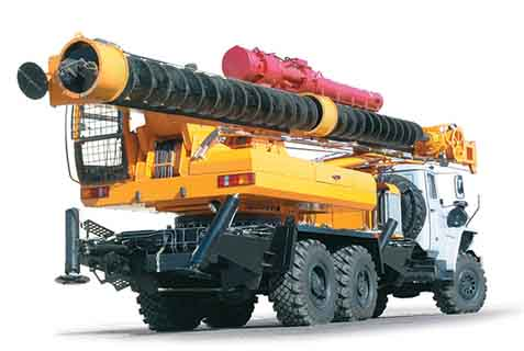 Бурильно-сваебойная машина БМ-811М