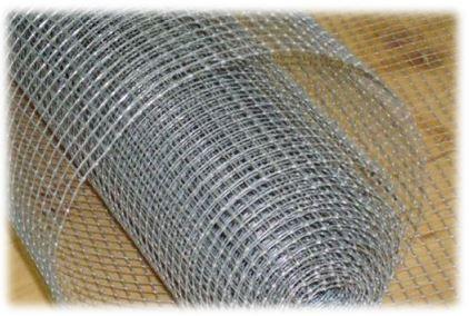Сетка сварная оцинкованная в рулонах