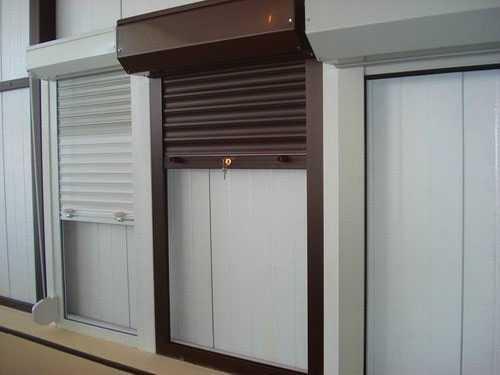 Роллеты (рольставни) на двери