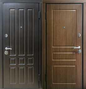 Металлические двери в квартиру серия 'Комфорт'
