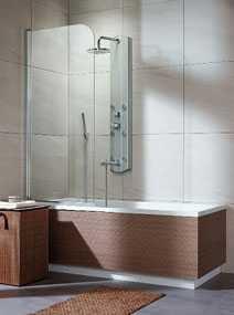 Стеклянная шторка на ванну Radaway Eos PND правая/левая