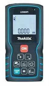 Дальномер лазерный 80м Makita LD080PI (до80м, для бытового назначения)