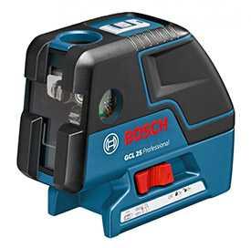 Нивелир лазерный (построитель плоскостей) комбинир. BOSCH GCL 25 0601066B00 (для бытового назначения)
