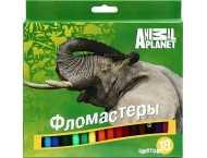 Фломастеры Animal Planet 18 цветов