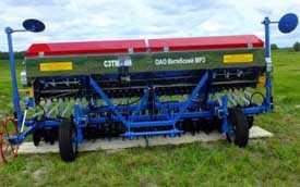 Сеялка зернотуковая механическая навесная СЗТМ-4Н
