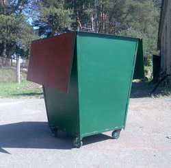 Контейнер для мусора (ТБО) на колесах