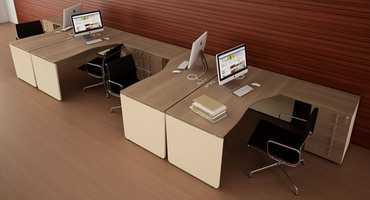 Коллекция офисной мебели для персонала «Аккорд-лайт»