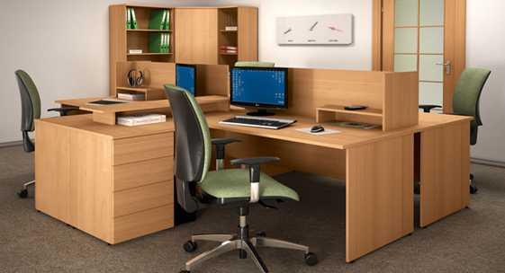 Коллекция офисной мебели для персонала «Квартал-лайт»