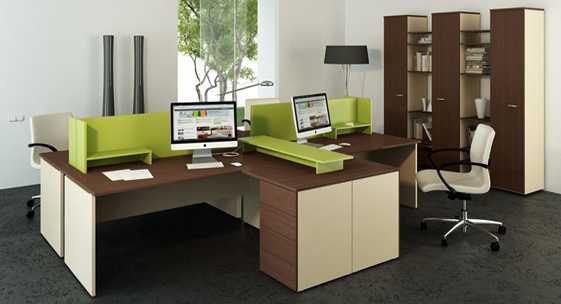 Коллекция офисной мебели для персонала «Квартал-оптима»