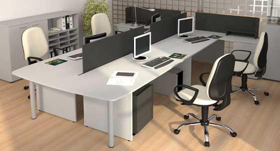 Коллекция офисной мебели для персонала «Квартал-стандарт»