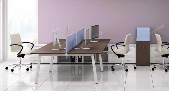 Коллекция офисной мебели для персонала «Матрикс»