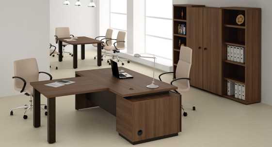 Коллекция офисной мебели для руководителя «Бонн»