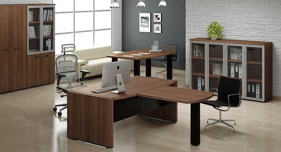 Коллекция офисной мебели для руководителя «Бридж»