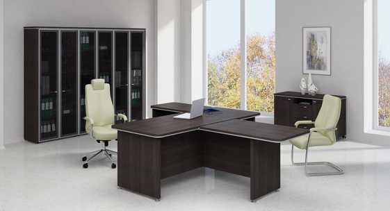 Серия офисной мебели для руководителя «Вельс»