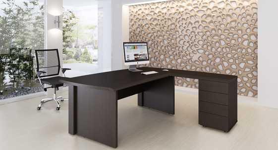 Коллекция офисной мебели для руководителя «Оксфорд»