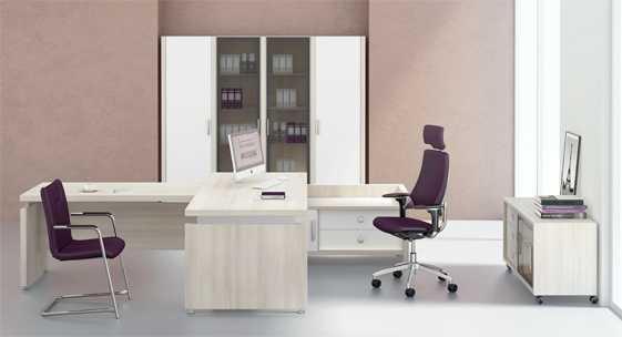 Коллекция офисной мебели для руководителя «Соренто»