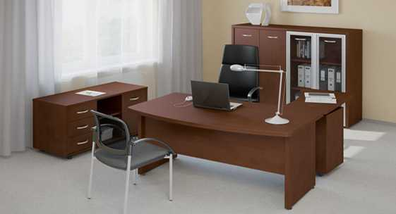 Офисная мебель для руководителя 'Танго-люкс'