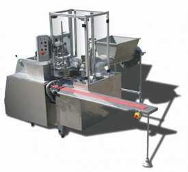 Упаковочная машина для упаковки сливочного масла в брикеты MILCOM PU3