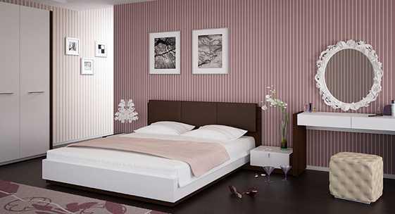 Коллекция мебели для спальни «Леона»