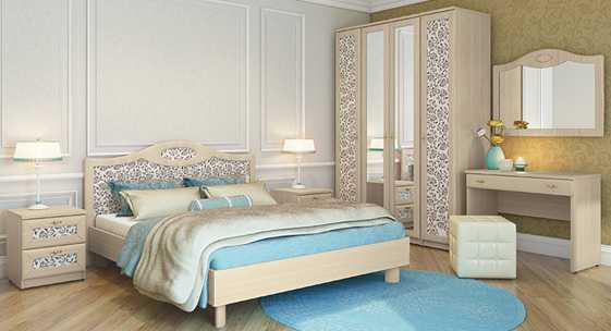 Коллекция мебели для спальни «Некст Classic»