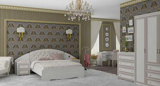 Коллекция мебели для спальни «Стрекоза»