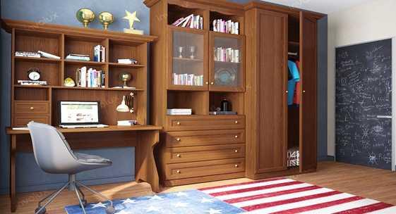 Коллекция мебели для детских комнат «ДЖЕРСИ»