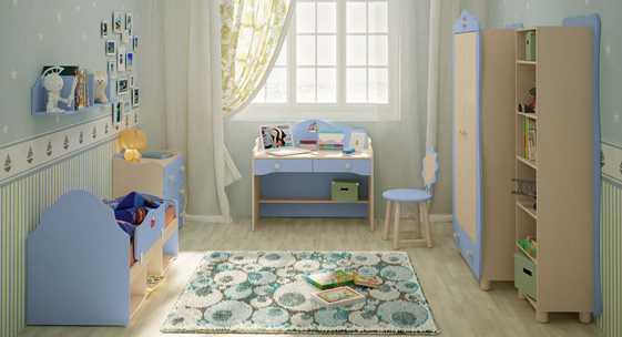 Коллекция домашней мебели для детей «Кнопочка»