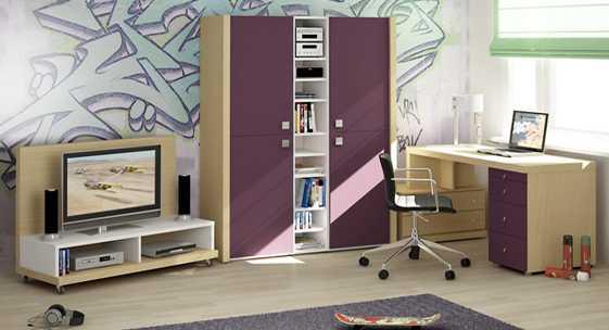Коллекция мебели для молодёжных комнат «МЕГАПОЛИС»