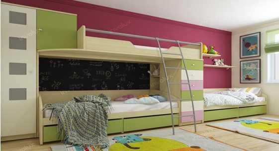 Коллекция домашней мебели для детей и молодёжи «Некст»