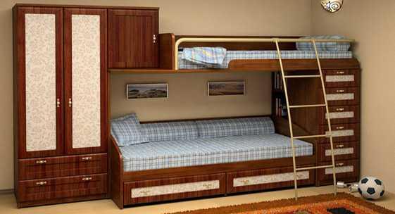 Коллекция домашней мебели для детей и молодёжи «Некст Classic»