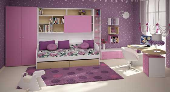 Коллекция мебели для детских и молодёжных комнат «СОЛНЕЧНЫЙ ГОРОД»