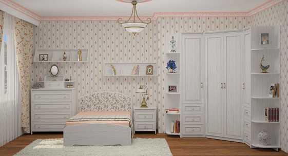 Коллекция мебели для детской «Стрекоза»