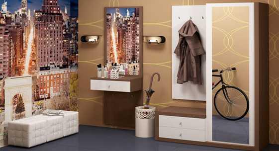 Коллекция мебели для прихожей «Мегаполис»