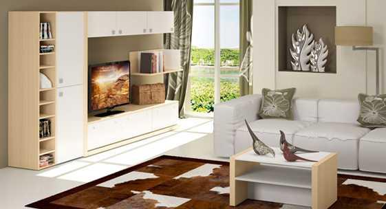 Коллекция мебели для гостиной «Мегаполис»