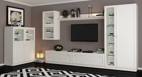 Коллекция мебели для гостиной «Сан-Ремо»
