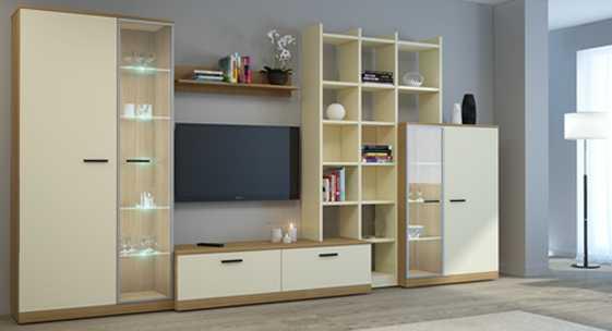 Коллекция мебели для гостиной «Стилло»