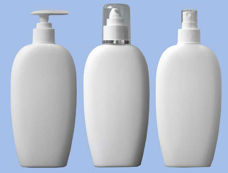 Пластмассовая бутылка для косметики C109