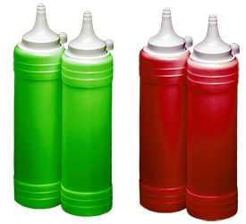 Бутылка для пищевых продуктов Toper - F101