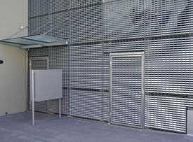 Решетки MEISER для фасадов