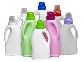 Бутылки для бытовой химии 1 литр, 1,5 литра и 2 литра