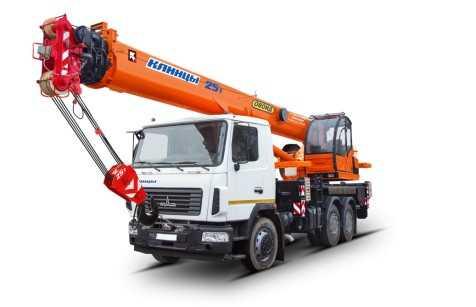 Аренда автокрана Клинцы КС-55713-6К-4 25 тонн