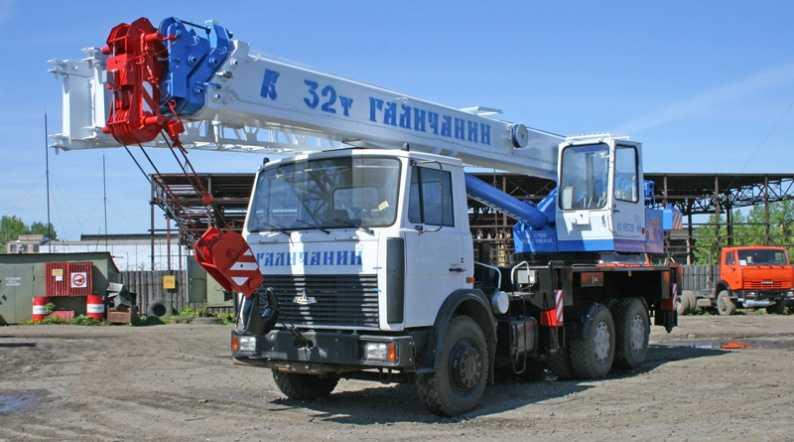 Аренда автокрана КС 55729В 32 тонны