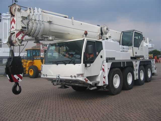 Аренда автокрана Liebherr LTM1060 60 тонн