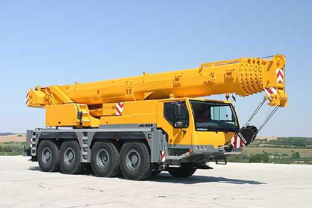Аренда автокрана Liebherr LTM1070 70 тонн