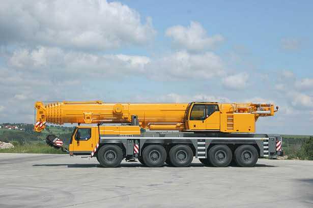 Аренда автокрана Liebherr LTM 1200-5.1 200 тонн